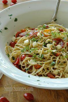 Summer Garden Pasta Salad | Simply Suzanne's