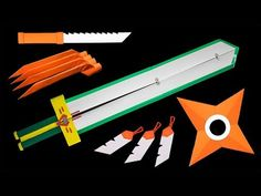 Origami Toys, Paper Crafts Origami, How To Make Origami, Easy Origami, Origami Claws, Simple Dragon Drawing, Origami Weapons, Star Wars Origami, Paper Bracelet