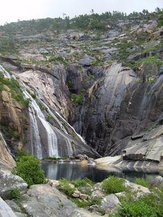 Ézaro (A Coruña) Única cascada en Europa que desemboca directamente en el mar. Terra, Celtic, Waterfall, Spain, Colour, Nature, Outdoor, Beautiful, Waterfalls