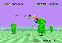 Super Space Harrier - Sega Master System