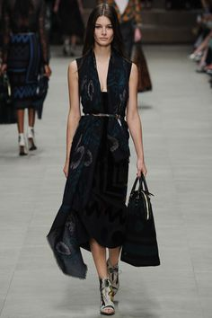 Burberry Prorsum Fall 2014 RTW Fashion by Mademoiselle!
