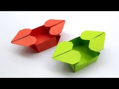 Easy Origami Heart, Valentine Gifts, Valentines Day, Origami Box Tutorial, Origami Art, Easy Diy Crafts, Dads, Articles, Crafting