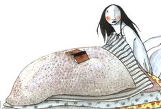 by illustrator Elena Odriozola - very sweet Space Drawings, Art Drawings, Elena Odriozola, Character Inspiration, Character Design, Princess And The Pea, Reading Art, Art Corner, Old Art
