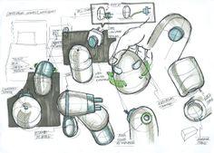 Random sketches by Tzu-hsuan Yang, via Behance