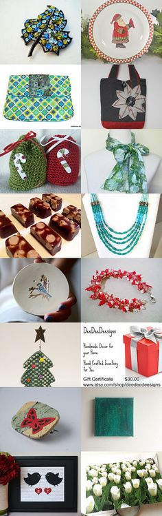 Christmas in July - SPS team treasury by Suni on Etsy--Pinned with TreasuryPin.com