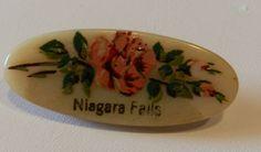 vintage celluloid souvenir pin