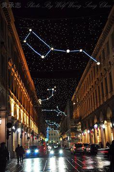 Christmas Light, Planetario. Via Roma, Torino