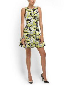 Silk Isosceles Linen Dress