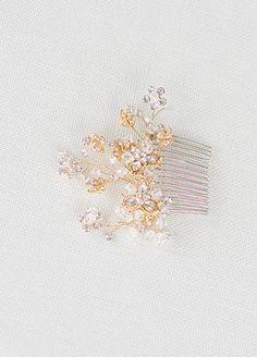 Crystal Comb ~ Olivine   Portobello