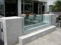 See-Thru Fireplace - modern - rendering - vancouver - by Elements Outdoor Inc.