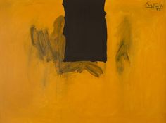 Heritage Auctions announces first Modern and Contemporary Art Auction in New York. Robert Motherwell Untitled (Ochre with Black Line), Robert Motherwell, Abstract Expressionism, Abstract Art, Museum Of Modern Art, Vincent Van Gogh, Art Auction, Contemporary Paintings, Fine Art, Charcoal