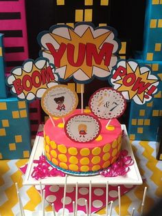 Superhero Birthday Party Ideas   Photo 1 of 12   Catch My Party