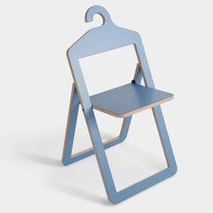 Umbra Shift: Hanger Chair: Marine, $250