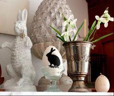 Uova di Pasqua con decorazioni in bianco e nero - Fotogallery Donnaclick