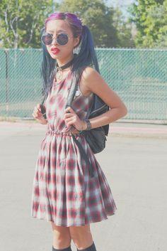 Plaid dress!!