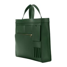 Inside-Out-Pocket Tote in Leather with Tonal Trim #katespade #saturday