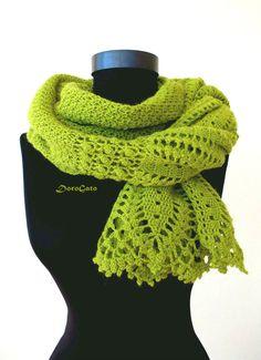 Crochet lace shawl Olive lace shawl wraps shawls lace by DoroGato