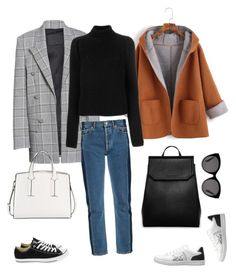 """""""Untitled #31"""" by rekaviktoria on Polyvore featuring Alexander Wang, Balenciaga, ED Ellen DeGeneres, CHARLES & KEITH, Calvin Klein 205W39NYC, Gucci, Converse and French Connection"""