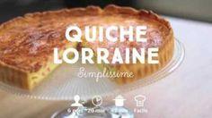 Original ! #Quiche à la #polenta, #épinards et mozzarella
