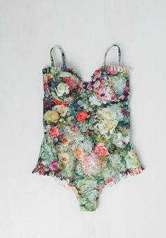 A Rose by Any Other Fame One-Piece Swimsuit