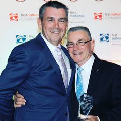 Our fave photo from Saturday night's First National Real Estate General Excellence and Marketing Awards - Father & son Rob Westwood & Bob Westwood. Naaawww!  #familybusiness #fatherandson #FNRE #FNREWestwood #team #teamwork #bragbook #winning #customersatisfaction #award #winner #satisfaction #local #localbrand #localbusiness #realestate #realestateau #realty #estateagents #realtor #buy #sell #property #customerservice #propertymanagement #Westwood #Wyndham #Werribee