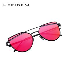 62deec05b6 2016 New Women 6 Colour Luxury Cat Eye Sunglasses Women Sunglasses Double-Deck  Alloy Frame
