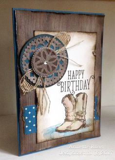 Stamps: Country Livin 'Happy Birthday Gorgeous Paper:DSP: Eastern Palace Specialty Designer Series Paper; Wood Textures DSP