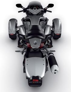 Can-am Spyder motorcycle, Brian wants us to have one...hmmm