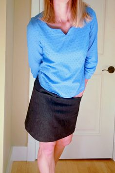 Sewaholic Patterns - Alma blouse