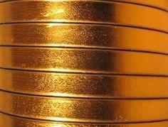 Bracciale#Cinturino oro metallizzato#cuoio#pelle