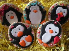 Cake Decorating Store Shelby Twp Mi : 1000+ images about Cookies...Penguin on Pinterest Penguins, Cookies and Cute penguins