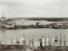 Eteläsatama ja Katajanokka 1900-luvun alkupuolelta