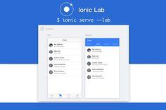 Livre e de código aberto, Ionic oferece uma biblioteca de HTML otimizado para dispositivos mobile, CSS e componentes JS e ferramentas para a