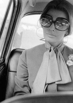 Sophia Loren by Elio Sorci, Rome, 1970.