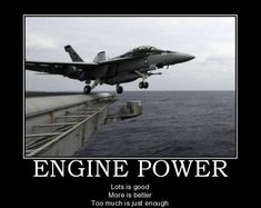 """I love watching them take off and land on these """"floating islands!"""" Try to imagine the first pilot ever who had to try it. Aviation Quotes, Aviation Humor, Military Jokes, Military Life, Demotivational Posters, Usmc, Marines, Military Aircraft, That Way"""