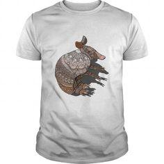 Cool Creepy Armadillo T-Shirts