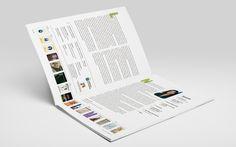 Revista Letras Canarias. Ddoble página con presentación, índice y créditos