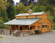 Horse Barns & Run-ins from Garden Time Sheds in Saratoga, Queensbury & Clifton Park NY & Rutland VT