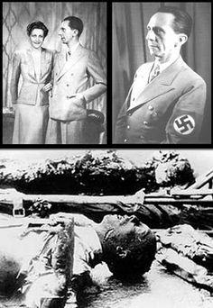 Joseph & Magda Goebbels,In life & death