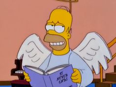 Homer as the guardian angel