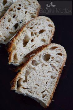 ekşi mayalı ekmek soğuk mayalama – sağlıklı yemekler – Las recetas más prácticas y fáciles Homemade Beauty Products, How To Make Bread, Bread Recipes, Banana Bread, Bakery, Food And Drink, Desserts, Wordpress Theme, Breads