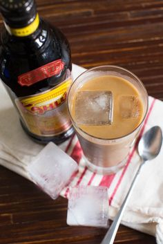 Pin this Kahlua Iced Coffee recipe for your spiked afternoon pick-me-up.