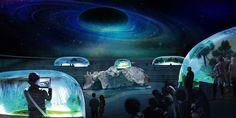 Aquarium concept competition for New York City win by Piero Lissoni