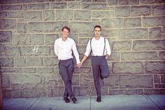 Creative and urban Same Sex engagement Photos in California