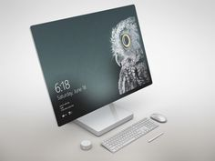 Surface Studio Mockup Free PSD to showcase your website design or presentation in a photorealistic look. Smart Objects allows you to edit the mockup very easily. Just place your design inside them. Microsoft Surface, Microsoft Excel, Microsoft Windows, Microsoft Office, Surface Studio, Surface Pro, Gnu Linux, Surface Laptop, Best Laptops