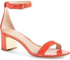 Tory Burch 'Cecile' Ankle Strap Sandal (Women)