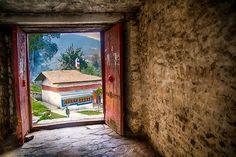 Monastery entrance, Tawang