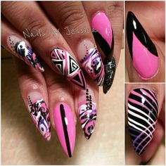 Stiletto Nails Tumblr | By: Joyce Filed Under: Nails Tagged With: Stiletto Nail Designs