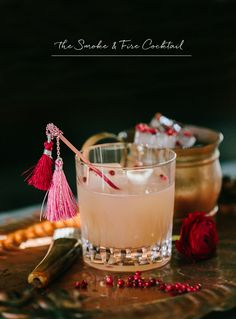 the smoke + fire cocktail recipe