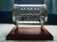 Amazing Nixie Clock Case
